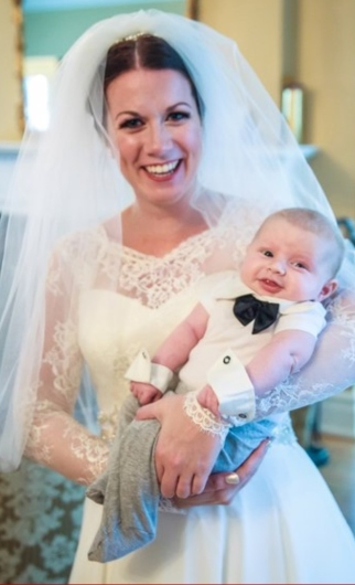 But no, seriously, how adorable is Sarah's nephew Emery?!?! I cannot handle this.  (c) John Wirick Photography